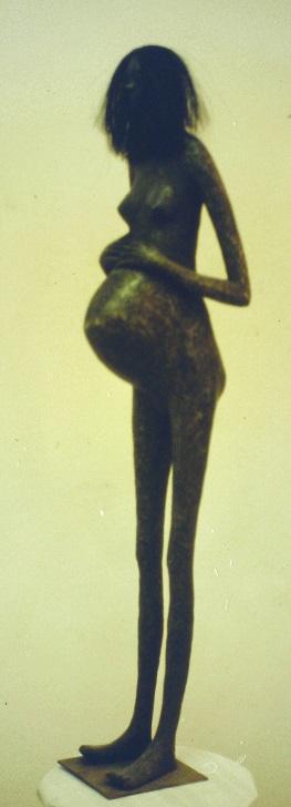 A Pregnant